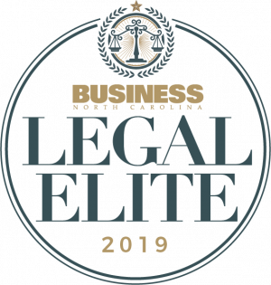 Thomas Amburgey included in the Business North Carolina Legal Elite 2019