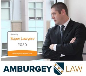 Thomas Amburgey is included in 2020 Super Lawyers Rising Stars